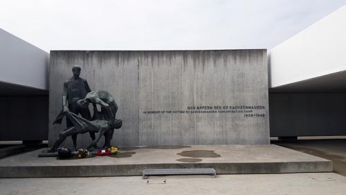 monumento Interior Campo Sachenhausen Berlin visitas guiadas tour guiados