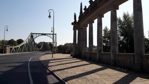 Potsdam puente Glienicker Brueke 1 Berlin tour guiados visita guiada