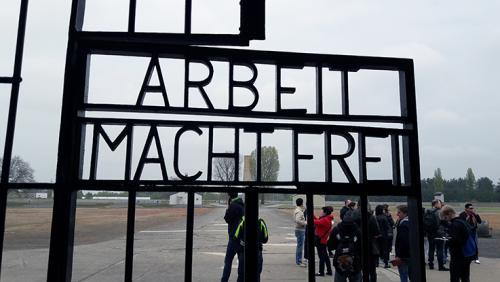 Entrada Campo Sachenhausen Berlin visitas guiadas tour guiados