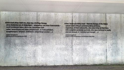 Gedenk Interior Campo Sachenhausen Berlin visitas guiadas tour guiados